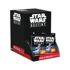 Star Wars Destiny Spirit of Rebellion Booster Display