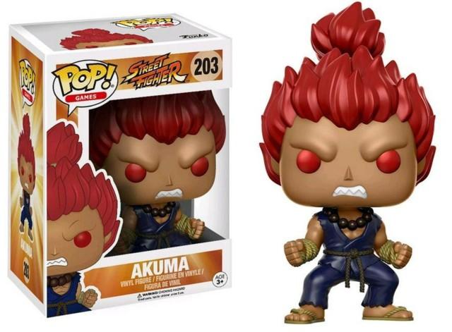 #203 - Akuma (Street Fighter) - Gamestop