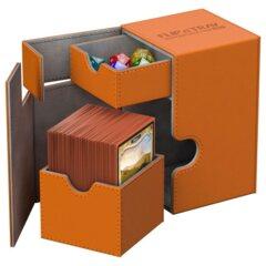 Orange - FLIP'n'TRAY DECK CASE (Ultimate Guard) -  100+