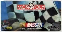 Nascar Monopoly Official Collectors Edition Board Game 1997 Comple Pewter Tokens