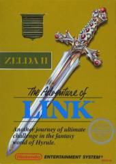 Zelda II Adventure of Link (Gold Cart)