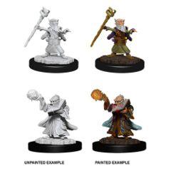 Gnome Male Wizard - Dungeons & Dragons (Nolzur's Marvelous Miniatures) - Unpainted