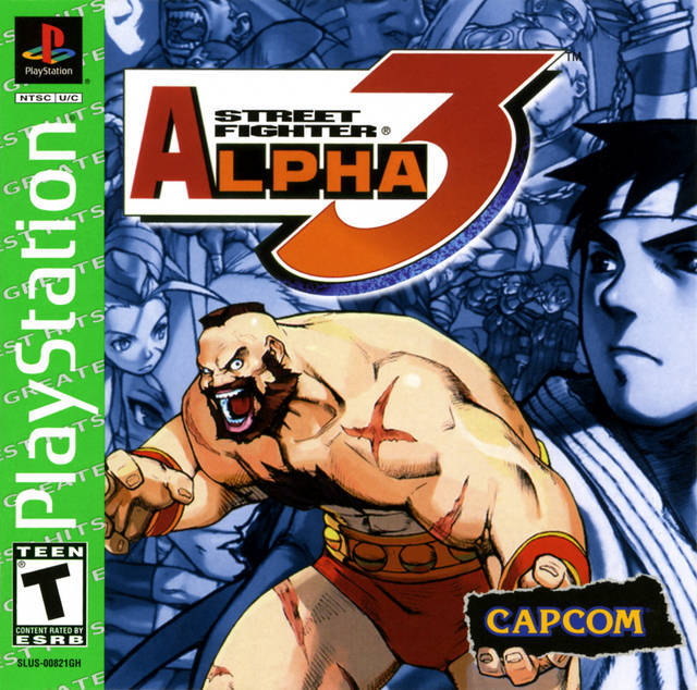 Street Fighter Alpha 3 (GREATEST HITS) - Video Games » Sony