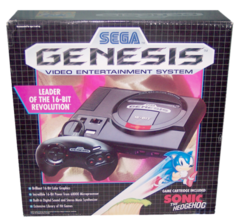 Sega Genesis (MK1) Sonic Included