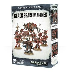 Start Collecting! - Chaos Space Marines (Warhammer 40000)