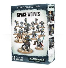 Start Collecting! - Space Wolves (Warhammer 40000)