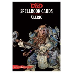 Dungeons And Dragons RPG (Updated Spellbook Cards) - Cleric Deck