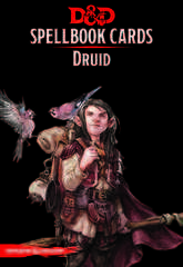Dungeons And Dragons RPG (Updated Spellbook Cards) - Druid Deck