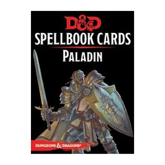 Dungeons And Dragons RPG (Updated Spellbook Cards) - Paladin Deck