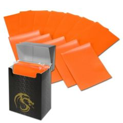 Matte Orange - Standard Boxed Sleeves (BCW) - 80 ct