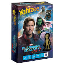Yahtzee- Guardians Of the Galaxy
