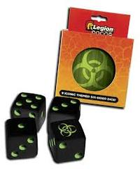 Legion - Iconic Dice D6 Tin: Bio (9)