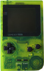 Gameboy Pocket (Custom Green) New Shell
