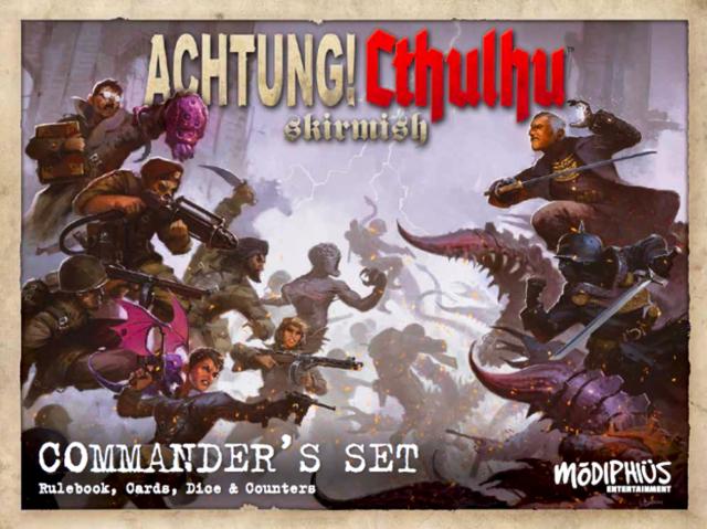 Achtung! Cthulhu - Skirmish Commanders Set