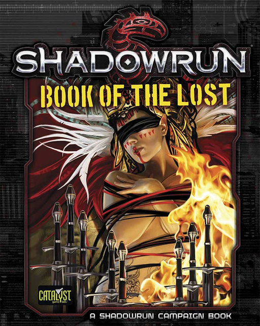 Shadowrun 5E: Book Of The Lost