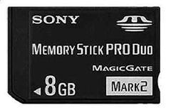 PSP Memory Stick PRO Duo 8GB