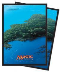 Island - Mana 5 (Ultra Pro) - Standard Sleeves - 80ct