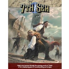 7th Sea - Core RuleBook - 2nd Ed