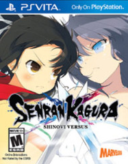 Senran Kagura - Shinovi Versus (PS Vita)