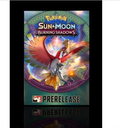 Sun & Moon: Burning Shadows Pre Release Kit