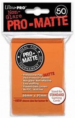 Ultra Pro PRO-Matte Standard Sleeves - Orange (50ct)