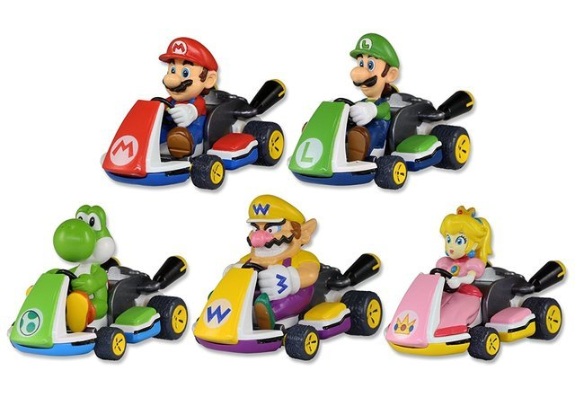 tomy super mario mario kart mystery pack toys collectables