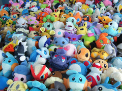 Pokemon - Plushies