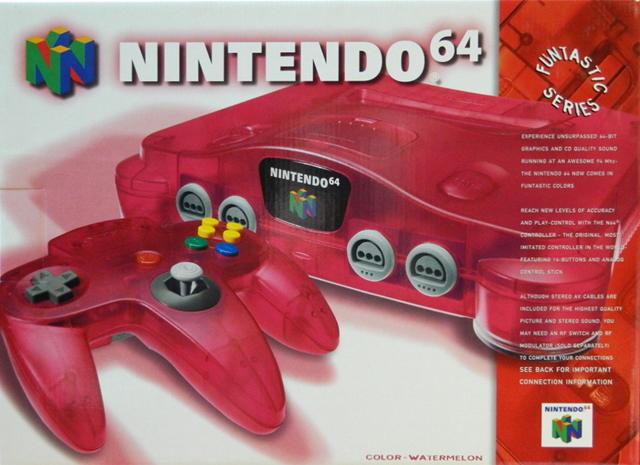 Nintendo 64 (Funtastic Series N64) Watermelon Red