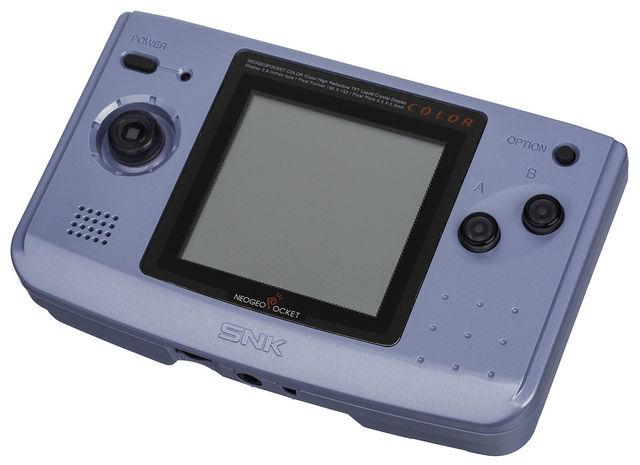 Neo Geo Pocket Color: Platinum Blue