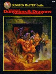 Advanced Dungeons & Dragons RPG - Dungeon Master Guide (2nd Edition)