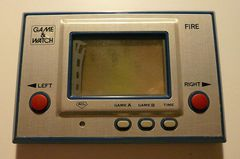 Game & Watch: Fire (Single Screen - Silver Series)