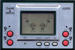 Game & Watch: Judge (Single Screen - Silver Series)