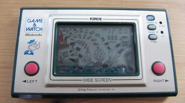 Game & Watch: Popeye (Wide Screen Series)