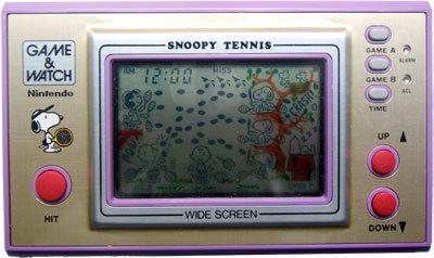 Game & Watch: Snoopy Tennis (Wide Screen Series)