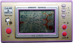 Game & Watch: Snoopy Tennis (Wide Screen Series)