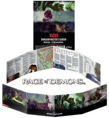 Dungeons and Dragons RPG (Dungeon Master Screen) - Rage of Demons