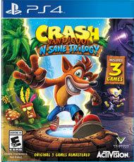 Crash Bandicoot - N'Sane Trilogy (Playstation 4) - PS4