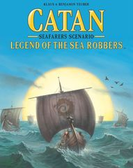 Catan Legend of the Sea Robbers (Seafarers Scenario)
