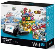 Super Mario 3D World Wii U 32GB Deluxe Console (Wii U System)