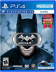 Batman Arkham VR (Sony) PS4