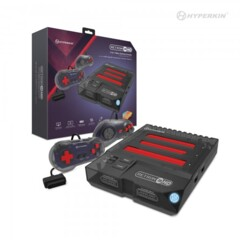 Retron 3 HD Gaming Console for NES, SNES & Sega Genesis (Space Black)