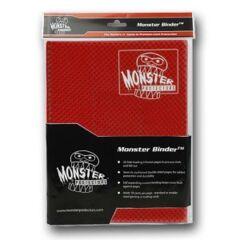 9-Pocket Monster Binder - Holo Foil Red