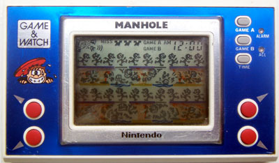 Game & Watch: Manhole (New Wide Screen Series)