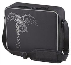 Black + Silver Dragon - Deluxe Gaming Case (Ultra Pro)