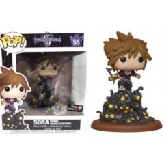 #55 - Sora Riding Heartless Wave (Game Stop Exclusive) (Kingdom Hearts)
