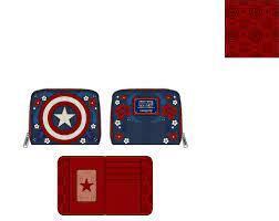 Captain America - 80th Anniversary (Marvel Loungefly) - Ziparound Wallet