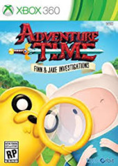 Adventure Time - Fin & Jake Investigations (Xbox 360)