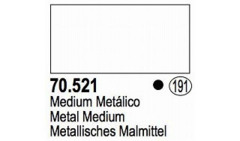 521 Metal Medium 17 ml