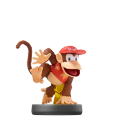 Diddy Kong - Super Smash Bros. - Amiibo (Nintendo)