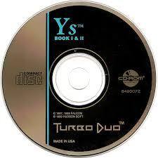 Ys Book 1 and 2 (Replacement TurboDuo Disc)